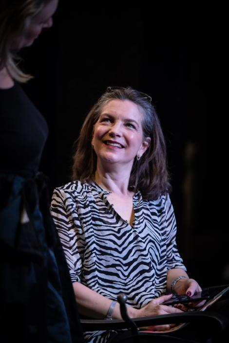 "Angela Kovács ""Backstage"" Teater Giljotin"